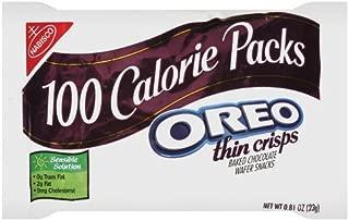 100 Calorie Packs Oreo Thin Crisps, 0.81-Ounce Packs (Pack of 72)