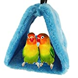 Bello Luna Blue Parrot <span class='highlight'>Nest</span> Pet <span class='highlight'>Bird</span> <span class='highlight'>Nest</span> Winter Warm Hammock Hanging Cave <span class='highlight'>Cage</span> Plush Happy Hut <span class='highlight'>Tent</span> Bed(S)