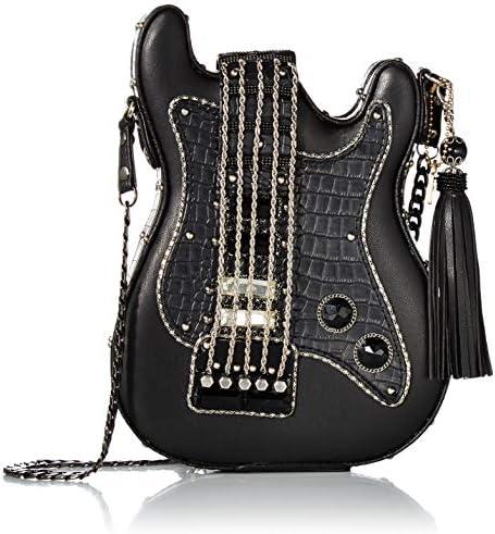 Mary Frances womens Turn It Up Crossbody Handbag Black One Size US product image
