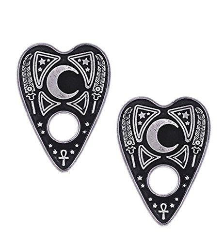 Dark Dreams Gothic Occult Okkult Pagan Wicca Ouija Planchette Hair Clips/Haarspangen Hairclip Haarspange Haarschmuck