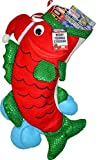 RIGRAP Red Merry Fishmas Stocking, 22'+ x 12'
