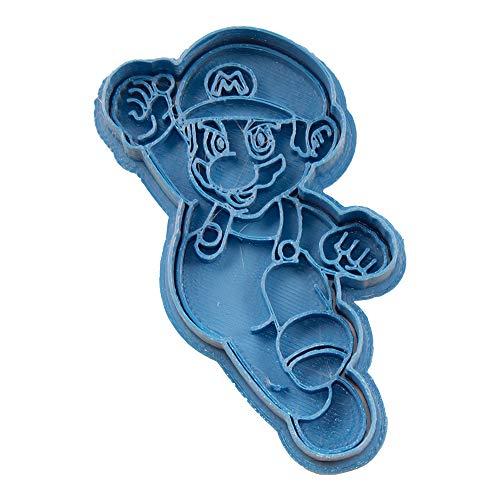 Cuticuter Mario Bros Mario Cookie Cutter, Blue