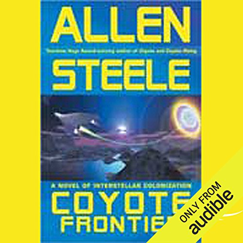 Coyote Frontier audiobook cover art