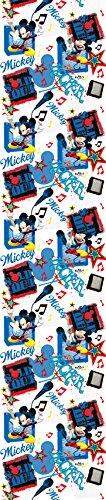 Disney - Mickey Mouse exclusief luxe gordijn ondoorzichtig kindergordijn 140x245cm EDEL EDEL