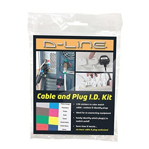 D-Line–Kit de cable y enchufe ID por D-LINE