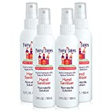 Product Image of the Fairy Tales Hand Sanitizer Spray- 80% Alcohol - Portable Hand Sanitizer for Kids...