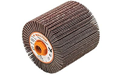 Walter 07J446 COOLCUT Linear Finishing Flap Abrasive Drum - 60 Grit, 4-1/4 in. Surface Finishing Drum. Finishing Products and Accessories