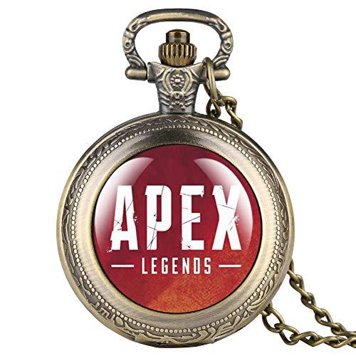 Reloj de bolsillo APEX para hombre, caja negra, reloj de bolsillo para niño, reloj de bolsillo digital árabe fro Friends- JLYSHOP