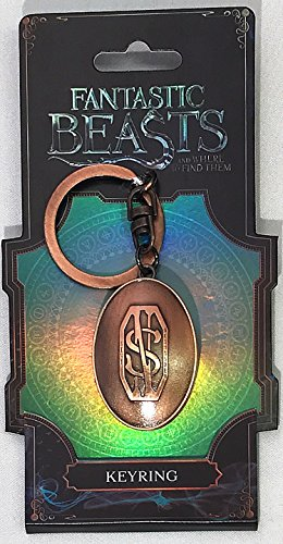 Fantastic Beasts and Where to Find Them(ファンタスティック・ビーストと魔法使いの旅)Picture Holder(ロケット)Pewter Keyring(キーホルダー) [並行輸入品]