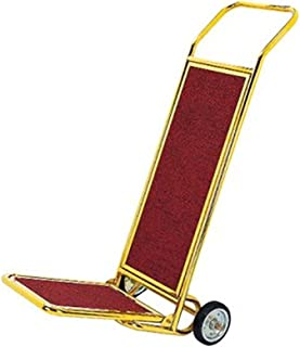 Hand Trucks DIOE Luggage Cart, Hotel/Airport/Club Dedicated Luggage Transport Cart, Stainless Steel, Gold