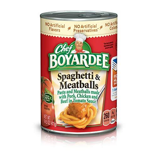 Chef Boyardee Spaghetti and Meatballs, 14.5 oz, 24 Pack