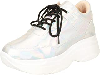 Cambridge Select Women's Retro 90s Lace-Up Ugly Dad Chunky Platform Fashion Sneaker