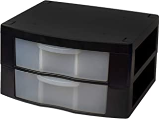 $29 » Tools for School Locker Drawer/Organizer for 12 Inch Locker (Black, Double)