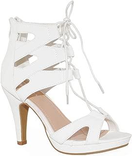 Women Fashion Gladiator Lace Up Sandals