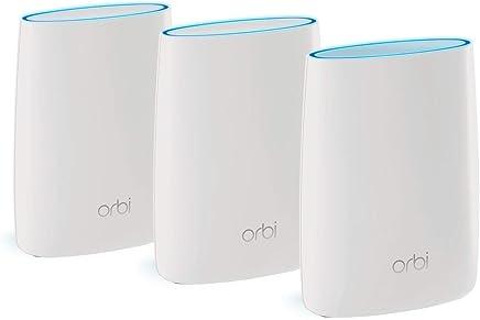 Netgear Orbi High-Performance AC3000 Tri-Band WiFi System (Router & Satellite)