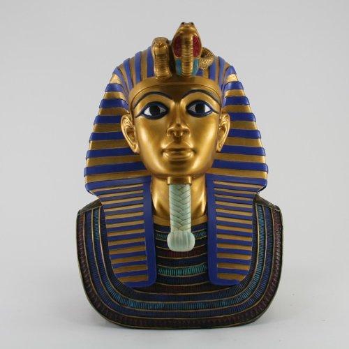 Sculpture décorative richement décorée pharaon égyptien Tutanchamun