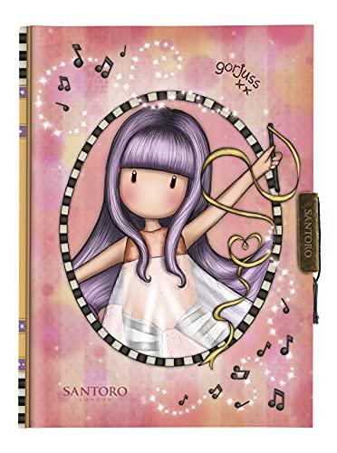 Safta Mi Diario Gorjuss Little Dancer, 128x176x20 mm, Multicolor, M