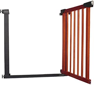 Pet Safety Gate Bar Baby Gates for Stairs Fence Fence Solid Wood Free Punching Self Closing