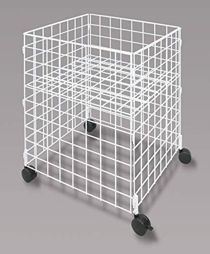 Popular product Medium Size [Alternative dealer] Mobile Dump Bin Cube White