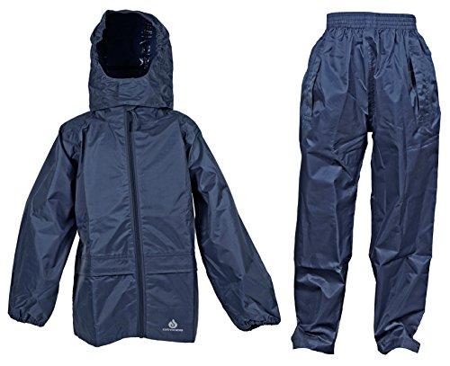 Dry Kids wasserdichte Anzug - Marineblau - 11/12 Jahre