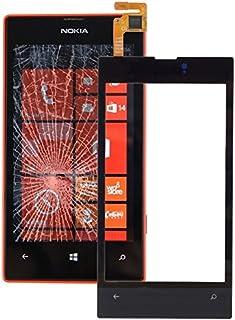 QFH قطعة لوحة لمس عالية الجودة لنوكيا لوميا 520 قطع غيار أجهزة اللمس اللمس