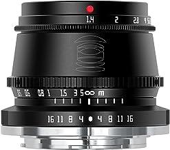 TTArtisan 35mm F1.4 APS-C M43 Manual Focus Lens for Nikon Z Mount Camera Like Z50