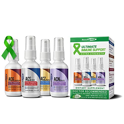 Results RNA Ultimate Immune Support System Extra Strength Kit | Ultimate Support for Detoxification, Immune Support, Antioxidant, Glutathione, Mental Clarity (2 oz)
