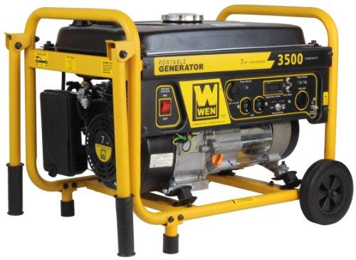 WEN 56352, 3000 Running Watts/3500 Starting Watts, Gas Powered Portable Generator generator ready rv WEN