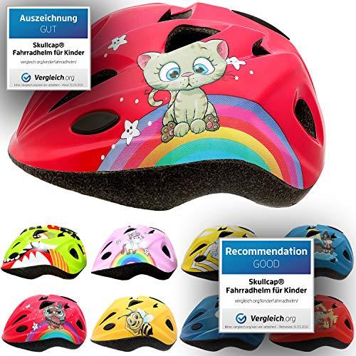 Skullcap® - Casco de bicicleta infantil para niños y niñas de 2...