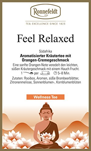 Ronnefeldt - Feel Relaxed - Wellness-Kräutertee - 100g