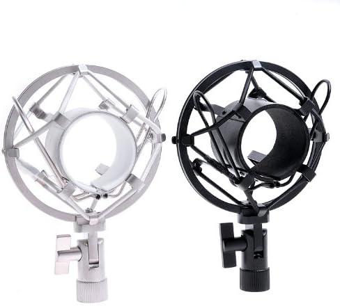 Black Silver Microphone Mic Shock Spasm price Brand Cheap Sale Venue Mount Ev Many Fits Mics Mxl