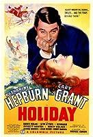 Holidayムービーポスター11x 17ケーリー・グラントKatharine Hepburn Dorisノーランエドワード・Everett Horton Unframed 142825