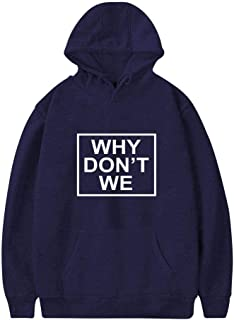 TshouiWE Why Dont Invitation We Mens Hoodies Sweatshirt Long Sleeve Pullover with Pocket