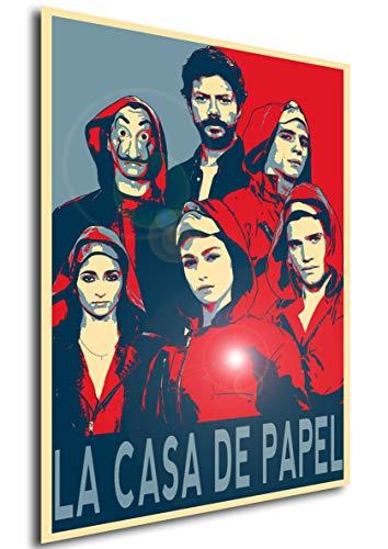 Instabuy Poster La casa de Papel (Haus des Geldes) Propaganda Characters (Plakat 70x50)
