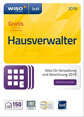 Preisvergleich Produktbild WISO Hausverwalter 2019 Professional - Die Profisoftware für alle Vermieter und Hausverwaltungen (Frustfreie Verpackung)
