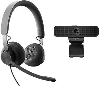 LOGI Bundle Zone Wired Headset+ Webcam