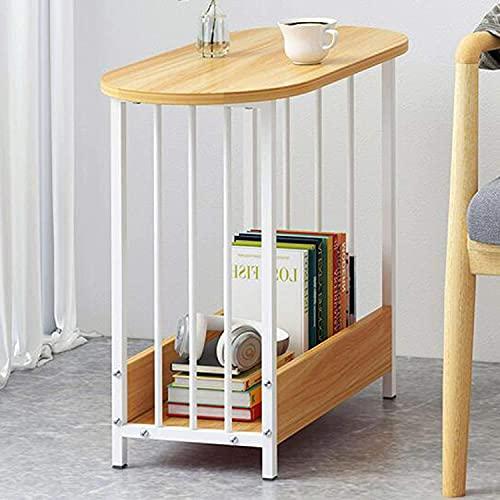 TTWUJIN Muebles de Escritorio Mesa de Centro Móvil Minimalista Moderna, Mesa de Sofá para Apartamento Pequeño, Mesa de Comedor Simple para Sala de Estar en Casa, Adecuada para Hoteles, Oficinas, Apar