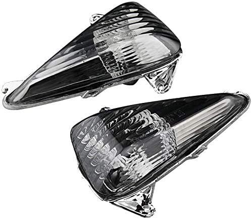 lowest Mallofusa Front Turn Signal Light Lens Cover Replacement Compatible for Honda CBF600S All outlet online sale Year popular Varadero 1000 2001 2002 2003 2004 2005 outlet sale