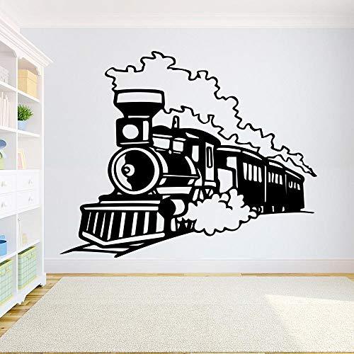 Jiushivr Train Wall Decal Boys Room Locomotive Vinyl