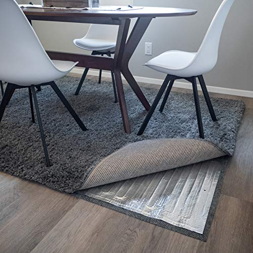RugHeat Under Rug Heating Mat - Portable Electric Radiant Floor Heater for Area Rugs, Size 34