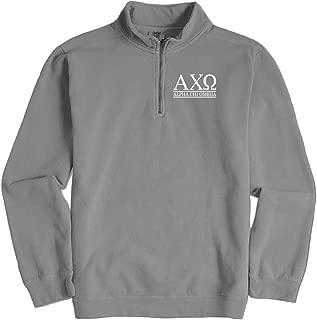 Alpha Chi Omega Quarter Zip Pullover