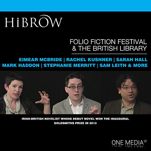 HiBrow: The Folio Prize Fiction Festival audiobook cover art