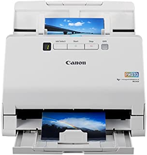 Canon imageFORMULA RS40 Photo and Document Scanner - for Windows and Mac - Scans Photos - Vibrant Color - USB Interface - ...