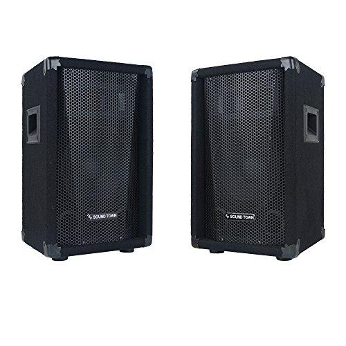 Sound Town 2-Pack Callisto Series 10' Full-Range Passive DJ/PA Speaker (CALLISTO-10-PAIR)