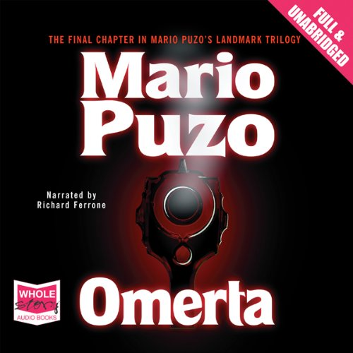 Omerta audiobook cover art