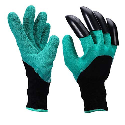 nonbrand Garden Genie Gloves, Guantes de jardín Impermeables con Garra para excavar Guantes de plantación para excavar Tierra y Arena o Guantes aislantes