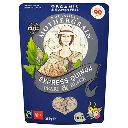 Quinola Pearl Black Finally popular brand Express Organic Quinoa 250g Large-scale sale - 6 Pack of
