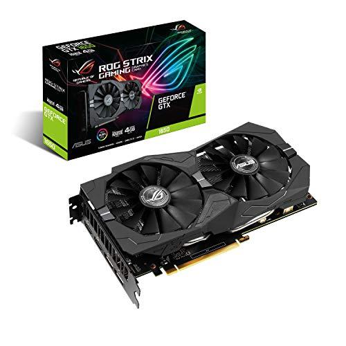 ASUS ROG STRIX NVIDIA GeForce GTX 1650 Advanced 4G Gaming Grafikkarte (PCIe 3.0, 4GB DDR5 Speicher, HDMI, DVI, Displayport)