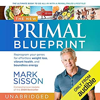 The New Primal Blueprint audiobook cover art