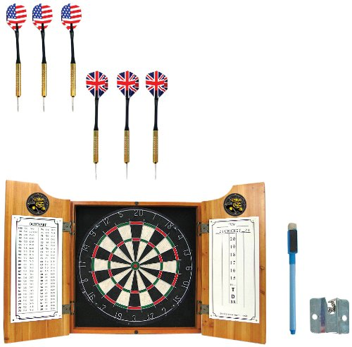 NCAA Wichita State U dart cabinet - Includes Darts and Board